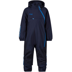 """Bergans Kids Snøtind Insulated Coverall Navy/Dark Navy/Athens Blue"""